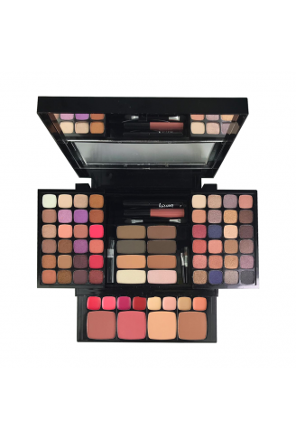 Kit De Maquiagem Sombras Pincel Love Yourself Luisance L983