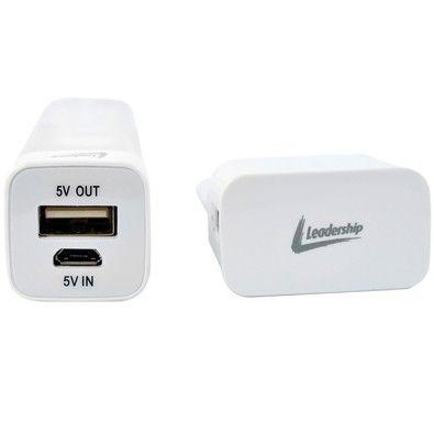 Kit Leadership com Carregador Portátil 2800mAh + Cabo USB x Lightning + Carregador de Tomada - 0145