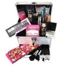 Maleta de Maquiagem Grande Kit de Maquiagem Completo Profissional Ruby Rose L3