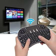 Mini Teclado Wireless Sem Fio Smart Tv Xbox Pc Tv Box