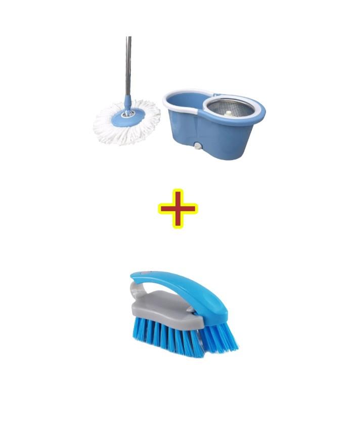 Mop Esfregão Limpeza + Escova para limpeza ECO-609