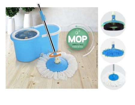 Mop limpeza prática 3 em 1 Casambiente
