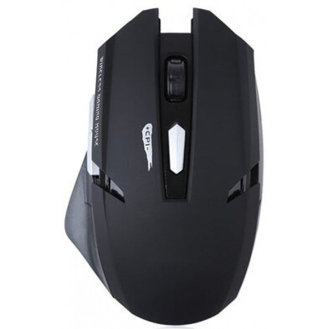 Mouse Gamer Sem Fio 2.4Ghz PlugX Preto
