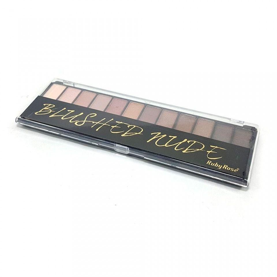 Paleta de Sombras + Primer Ruby Rose Blushed Nude HB-9913