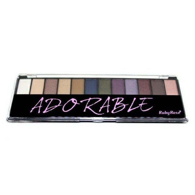 Paleta de Sombras + Primer Ruby Rose Glamour HB-9909