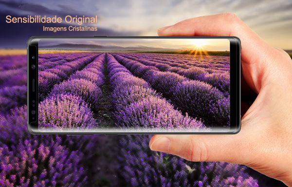 Película de Vidro Temperado 3D Curvada Para Samsung Note 8 Gbmax