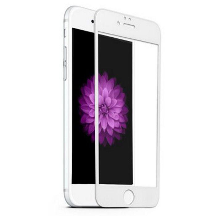 Película Vidro 3D iPhone 6 4.7 Branco Asahi Glass