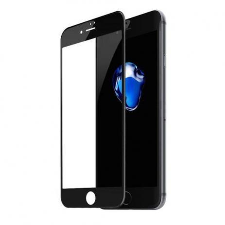 Película Vidro 3D iPhone 6 5.5 Preto Asahi Glass