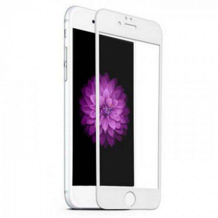 Película Vidro 3D iPhone 7 5.5 Branco Asahi Glass