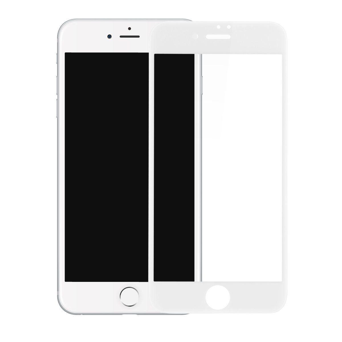 Película Vidro 3D iPhone 8 5.5 Branco ASAHI