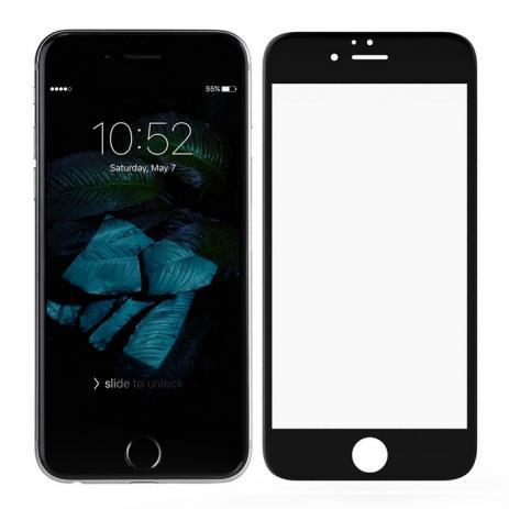 Película Vidro 3D iPhone 8 Plus 5.5 Preto ASAHI