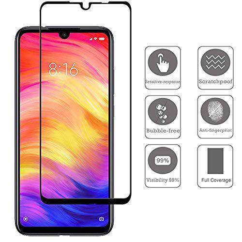 Película Vidro Temperado 3d Blindada Xiaomi Redmi Note 7 - Preta