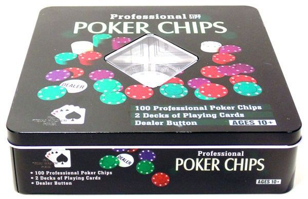 Poker Chips Profissional 100 Fichas Numerada+ Embaralhador