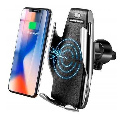 Suporte Com Carregador Veicular Automático Wireless 10w