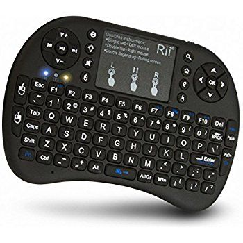 Teclado Mini Wireless Keyboard Mouse Smart Tv