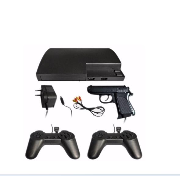 Vídeo Game Mega Game 123 Jogos Em 246 versões  C/2 controles