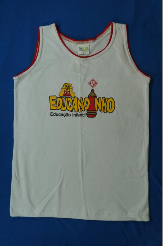 Camiseta Regata - Educandinho