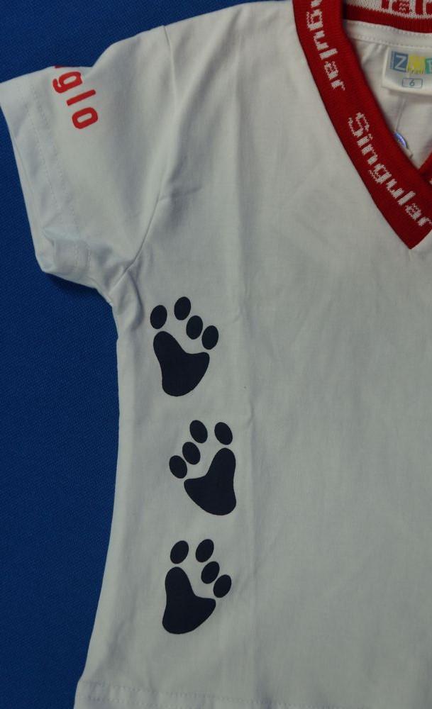Camiseta Baby Look - Singular - Patinhas