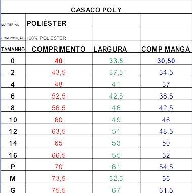 Casaco Poly - Educandinho