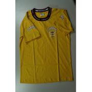 Camiseta Manga Curta - Amarela - Stocco