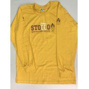 Camiseta Manga Longa - Amarela - Stocco