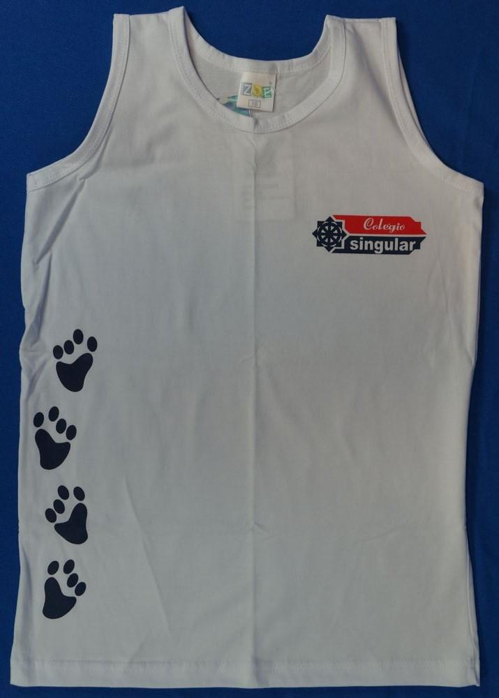Camiseta Regata - Singular - Patinhas - Zoe Brasil 66b3a67fa21