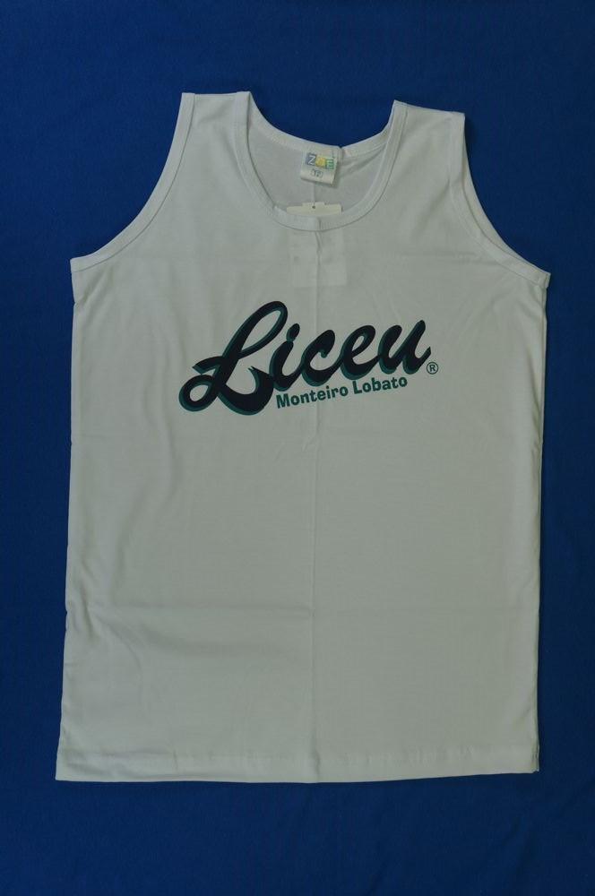 Camiseta Regata - Liceu - Zoe Brasil 9a348b28838