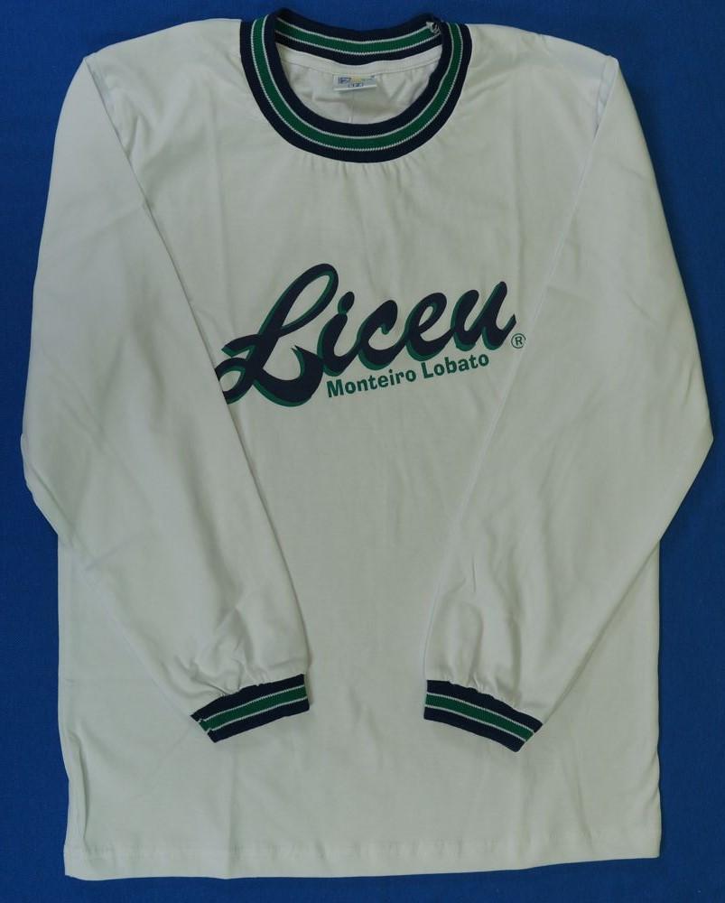 Camiseta Manga Longa - Liceu