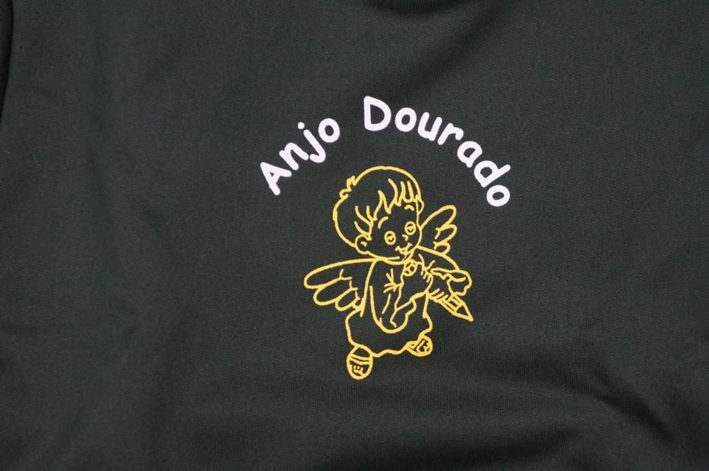 Blusão de Moletom - Sem Capuz - Anjo Dourado
