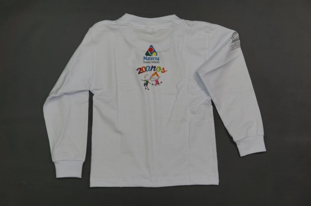 Camiseta - Manga Longa - Materna