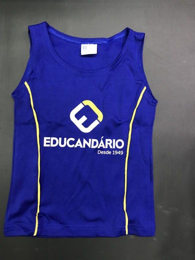 1839d395d195e Camiseta Regata - Dança - Educandário - Zoe Brasil