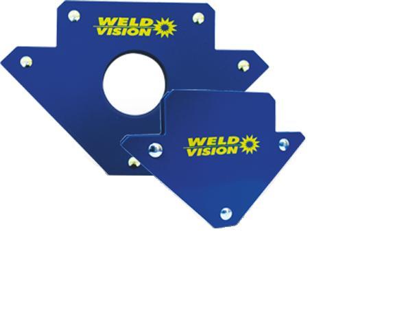 Esquadro Magnético para Solda 30Kg Weld Vision