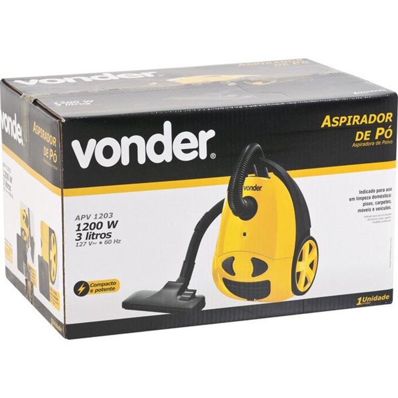 Aspirador de Pó 3L 1200W APV 1203 Vonder