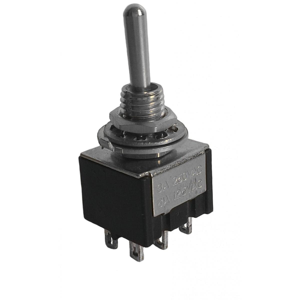 Chave Seletora de Voltagem para Geradores 6 Polos 110V e 220V