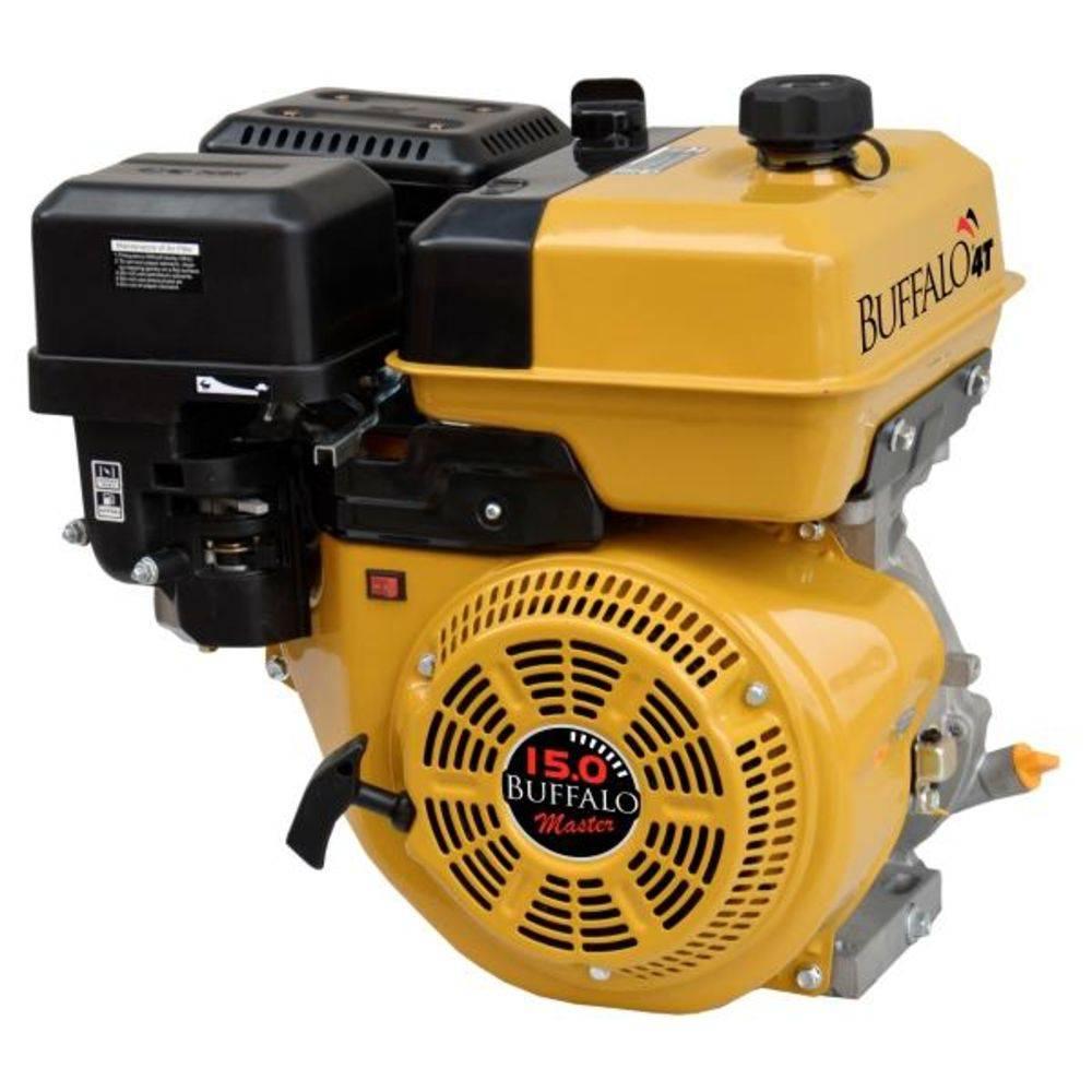 Motor Estacionário a Gasolina 15 HP BFG Partida Manual Buffalo