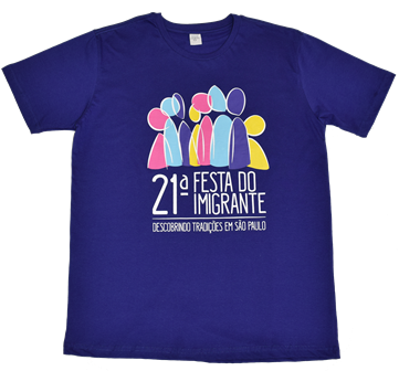 Camiseta 21ª Festa do Imigrante