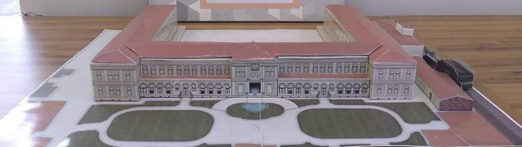 Maquete Complexo Antiga Hospedaria