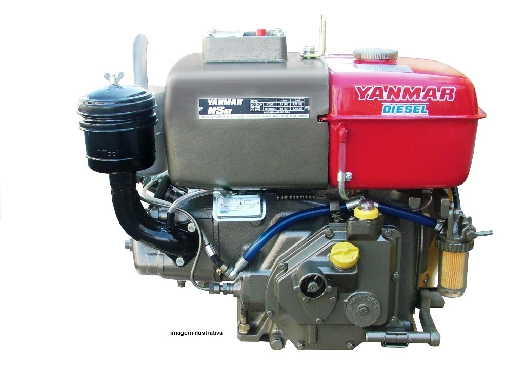 Motor Yanmar NSB12 NSB18 NSB50 NSB80 NSB95