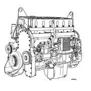Motor Diesel CUMMINS QSB 5.9 QSB 6.7