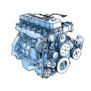 Motor Diesel VOLVO D4D D4E