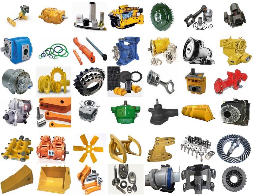 Peças para Motor de Escavadeira Volvo EC140 EC210 EC220 EC240 EC250 EC350 EC480 EC750