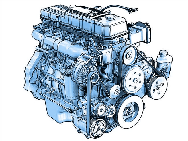 Motor Perkins 1004