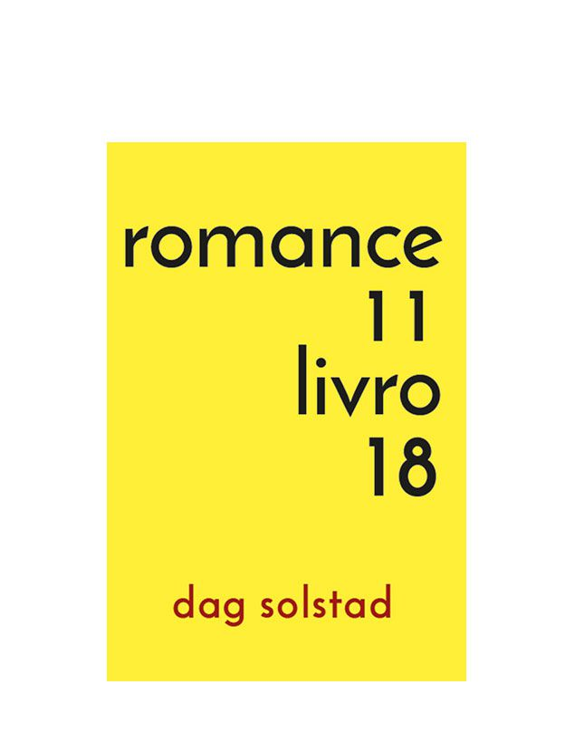 romance 11, livro18 - Dag Solstad