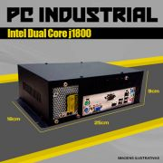 Mini PC Bluetech Industrial Intel J1800 2GB DDR3 HD 500GB