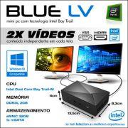 Mini PC Bluetech LV Intel® Dual Core™ N2808, 2GB DDR3, HD 32GB eMMC, HDMI, VGA, LAN, Wifi b/g/n, Gráficos HD Intel, Windows 10