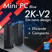 Mini PC Bluetech 2K-V2 J1800 Intel Dual Core, 4GB DDR3, HD 500GB, HDMI, VGA, 2x Seriais