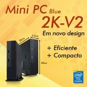 Mini PC Bluetech 2K-V2 J1800 Intel Dual Core, 4GB DDR3, HD 500GB, HDMI, VGA, 2x Seriais