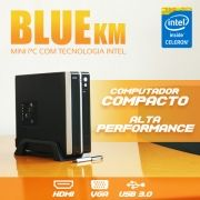 Mini PC Bluetech KM Intel Celeron Dual Core J1800, 2GB DDR3, HD 500GB, HDMI, VGA, USB 3.0, Rede Gigabit