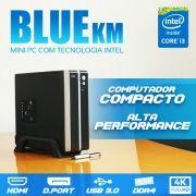 Mini PC Bluetech KM Intel® Core i3 7100, 4GB DDR4, HD 500GB, HDMI, Display Port, USB 3.0, Rede Gigabit