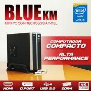 Mini PC Bluetech KM Intel® Core i5 7400, 4GB DDR4, HD 500GB, HDMI, Display Port, USB 3.0, Rede Gigabit